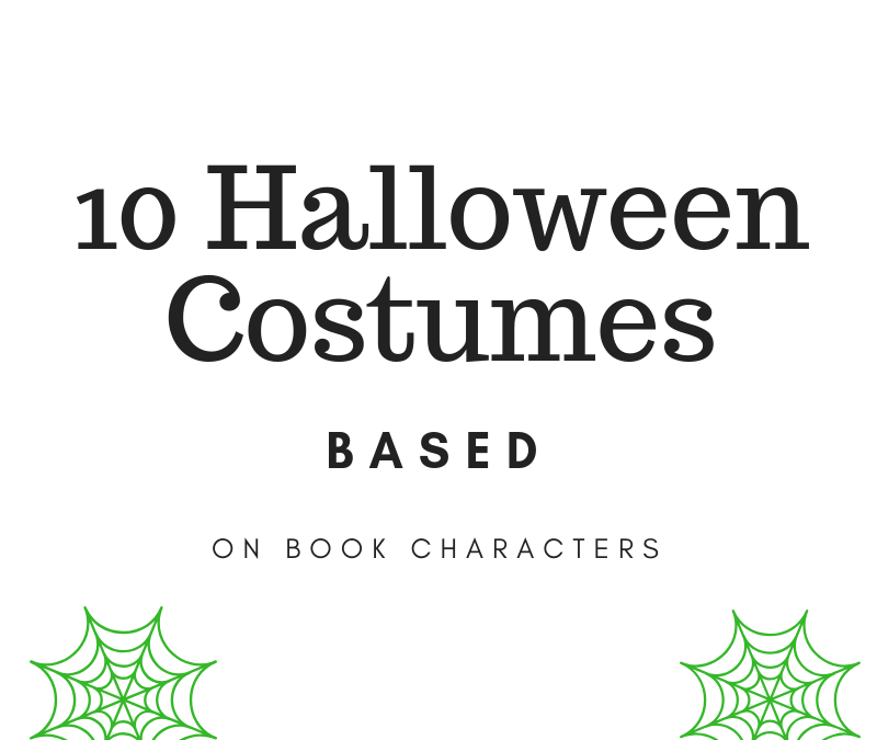 10 Halloween Costumes Based on Book Characters