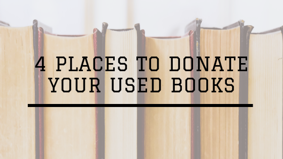 4 Places to Donate Your Used Books